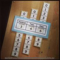 Free Printable Place Value Slider…what a great teaching tool! Culligan Culligan Schrock this would be perfect for Chris No? Math Strategies, Math Resources, Math Activities, Math Classroom, Kindergarten Math, Teaching Math, Primary Teaching, Teaching Ideas, Math Place Value