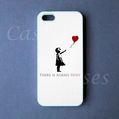 Iphone 5 Case - Banksy Iphone 5 Cover. $16.99, via Etsy.