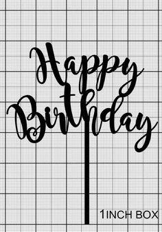 Happy Birthday Cake Topper Birthday Topper Gold Cake Topper | Etsy Gold Cake Topper, Monogram Cake Toppers, Acrylic Cake Topper, Custom Cake Toppers, Wedding Cake Toppers, Western Cake Toppers, Western Cakes, Happy Birthday Cake Topper, Birthday Cakes For Women
