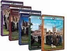 Masterpiece Classic: Downton Abbey Season 1-5 DVD Set TV Series Brand New