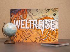 Tee Weltreise verschenken   idaviduell   eine witzige Geschenkidee  #weltreise #teegeschenke Cover, Books, Art, How To Make Tea, Types Of Tea, Pomegranate, Tea Gifts, Special Gifts, Good Day