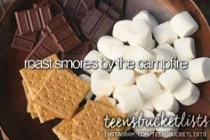 Camping every year, we roasted marshmallow and made smores. I believe this should be a yearly tradition/celebration! ~HH