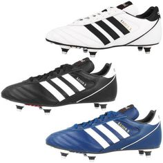 brand new c77f3 a2a7d ADIDAS KAISER 5 CUP SG SHOES CLEATS FOOTBALL BOOTS REAL LEATHER WORLD CUP.