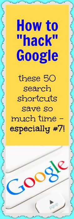 Google search operators can make life so much easier. Grab some great ones here.