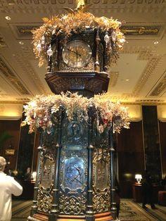 Beautiful clock from Chicago World's Fair--Waldorf Astoria NYC