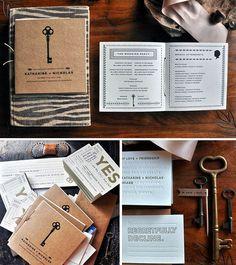 Wedding invitation...keys