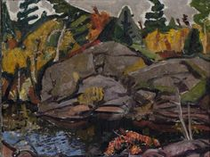 View Rocks and Pool Georgian Bay by Arthur Lismer on artnet. Browse upcoming and past auction lots by Arthur Lismer. Group Of Seven Artists, Group Of Seven Paintings, Canadian Painters, Canadian Artists, Franklin Carmichael, Dazzle Camouflage, Tom Thomson, Emily Carr, Photo Engraving