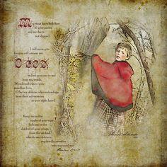 Little Red Ridinghood. Photoshop illustration.