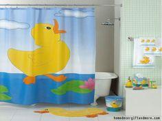 Kids Bathroom Themes Rubber Duck Bathroom, Baby Bathroom, Bathroom Shower  Curtains, Bathroom Colors
