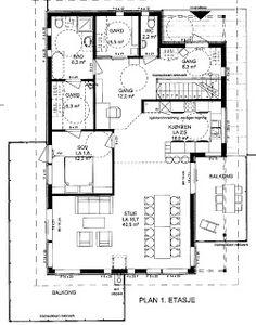 Casa Aass: juni 2011 Juni, Floor Plans, Diagram, Floor Plan Drawing, House Floor Plans