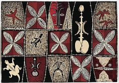 Fatu Feu'u Talosaga pouli: Ancient worship of the black lizard by night… Polynesian Art, Polynesian Culture, Auckland Art Gallery, New Zealand Art, Nz Art, Hawaiian Quilts, Painter Artist, Tapas, Collaborative Art