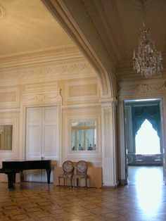 The Avant Hall in the Yusupov Palace