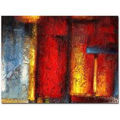 Trademark Fine Art Ice and Fire Canvas Art by Ricardo Tapia, 24 inch x 32 inch, Multicolor