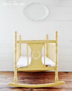 Vintage Cradle Makeover
