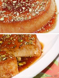 Pistachio Flan for Nut Lovers | Flanboyant Eats™: Latin Fusion Cooking & Tasty Travels Under Pressure!™