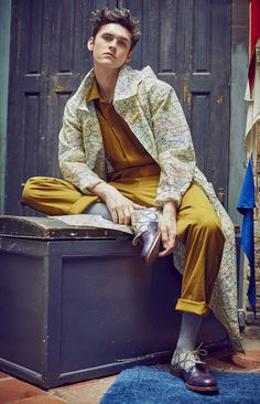 Photo by Aitor Santome. Styling by Chat Sutatsanee.  menswear mnswr mens style mens fashion fashion style editorial