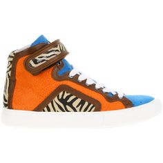 PIERRE HARDY Sneakers ($685) ❤ liked on Polyvore