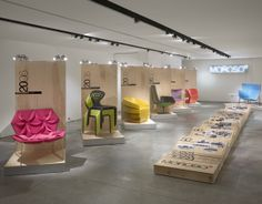 Moroso Travelling Exhibit by Donna Pallotta, via Behance