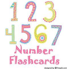 Printable Number Flashcards