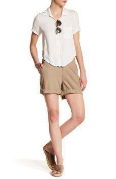 Joe Fresh - Solid Linen Blend Short