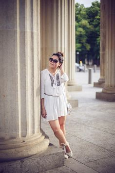 more looks on www.goldenweek.de <3 #boho #chic #white #outfit #summer #look #fashion #style #ehtno #hippie #espadrilles #zara