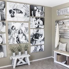 Note to self: do this in entry way of our new home.  From @_simplyjenna