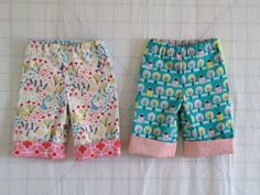 "The perfect baby pants pattern: other than maybe a onesie, it is THE essential baby sewing pattern for boys or girls. But you might not know the genius of a great baby pants pattern until you get in to the thick of baby life. At your shower, you get TONS of baby clothing. You think, ""Yeah! I'm SET with baby jeggings and onesies forever!"" That is until your baby gets to be about 6 months old and all of these adorable (and maybe even never-been-worn) outfits DON'T FIT anymore. Ugh! Baby pants…"