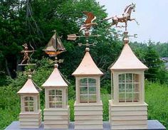weathervanes, weathervanes and cupolas, custom weathervanes, copper weathervanes, american made weathervanes.