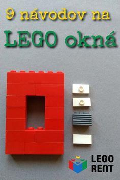 Naučte sa postaviť okná z Lega na milión spôsobov a dajte svojim Lego stavbám punc dokonalosti. Jednoduché a pritom efektné. Lego, Frame, Home Decor, Homemade Home Decor, Legos, A Frame, Frames, Hoop, Decoration Home