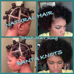 How To: Styling My Natural Hair | Bantu Knot Tutorial