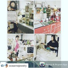 So many reposts!  #Repost @oceannejewelry with @repostapp.  Repost from @revivalbodycare  I'm surrounded by some of my favorites here at @CLEBazaar Valentine's Show at @LakeAffectStudios til 6pm. I've spotted a few things that I might treat myself to this Valentine's Day!  Valet Coat Check Bar...Pierogies and 100 of the best #CLE Makers! xo  #clevelandbazaar #thisisCLE #valentineshow #ValentinesDay #love #treatyourself #winter #handcrafted #madebyhands #smallbatch #madeinCLE #shopsmall…
