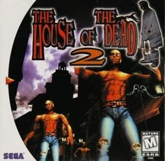 Prepare to send the undead back to the afterlife! From the number 1 hit arcade smash. All new gameplay modes, exclusive to Dreamcast with tons of branching paths for ultimate replayability and incredibly detailed graphics with 6 levels of intense action. Playstation, Xbox, Game Of The Day, Nintendo, Horror Themes, Sega Dreamcast, Sega Saturn, Dark City, Classic Video Games
