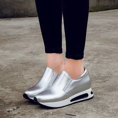 Shop fashion sneakers shoes at Chiko Shoes. Fashion sneakers are enjoying a huge moment after being endorsed by Karl Lagerfeld on 2014 haute couture show. Lace Sneakers, Dress With Sneakers, Fashion Sandals, Sneakers Fashion, Cute Shoes, Me Too Shoes, Mode Hijab, Baskets, Dream Shoes