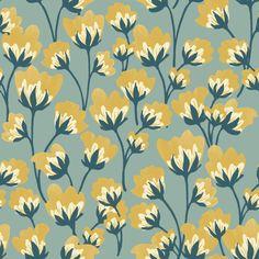 Vintage style floral pattern from Seasalt Cornwall. Flower Pattern Design, Surface Pattern Design, Pattern Art, Flower Patterns, Pattern Ideas, Art Deco Wallpaper, Pattern Wallpaper, Vintage Design, Vintage Patterns