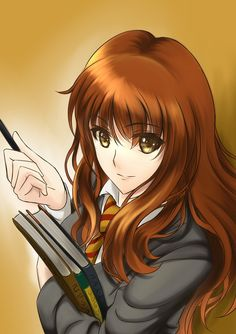 Beneath the Tangles: Photo Hermione Granger, Harry Potter Hermione, Harry Potter Anime, Harry Potter Universal, Harry Potter Illustrations, Harry Potter Artwork, Anniversaire Harry Potter, Cartoon Movies, Monster
