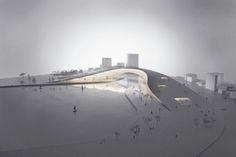 Gallery of Moon Bridge / JAJA Architects. - 2