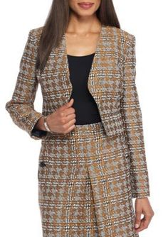 Nine West Brandy Multi Short Jacket
