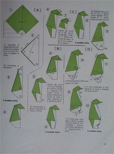 Origami for Everyone – From Beginner to Advanced – DIY Fan Origami Penguin, Origami Yoda, Origami And Kirigami, Origami Ball, Origami Paper Art, Origami Dragon, Origami Fish, Origami Animals, Oragami