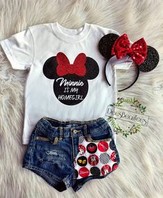 Minnie is my homegirl shirt, disney shirt products disney baby clothes, dis Disney Inspired Outfits, Disney Outfits, Kids Outfits, Cute Outfits, Disney Shirts For Family, Shirts For Teens, Kids Shirts, Disney Family, Disney Baby Clothes