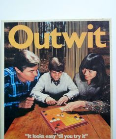 Vintage Parker Brother's Outwit Board Game 1978 by WylieOwlVintage, $14.00