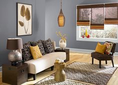 This is the project I created on Behr.com. I used these colors: MISSION CONTROL(N530-5),