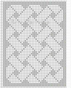 15 New Ideas Baby Blanket Print Knitting Patterns Filet Crochet Charts, Crochet Diagram, Knitting Charts, Crochet Stitches, Knitting Patterns, Crochet Table Runner Pattern, Tapestry Crochet Patterns, Crochet Lace Edging, Crochet Borders