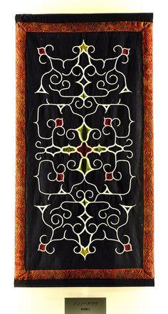 Ainu embroidery