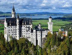 Neuschwanstein Castle, Germany, October, 2016 ESLVentures.com