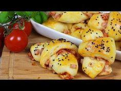 Pizzahörnchen - Fluffig und Lecker - ACHTUNG Suchtgefahr :D - YouTube