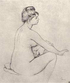 Renoir, Pierre-Auguste: Badende - Gemeinfrei