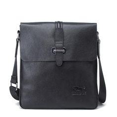 New Arrival Genuine Leather Men Messenger Bag Shoulder Cross Body Bag iPad Bag Ipad Bag, Satchel, Crossbody Bag, Messenger Bag Men, Briefcase, Leather Men, Gym Bag, Shoulder Bag, Shoulder Bags