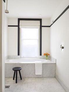 baths-black-white-bathtubs-flowers-marble-bathrooms-paints-stools-wall-d-cor