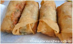 Spring rolls (Chinese New Year Recipe)