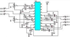 TA8210AH Car Audio Power Amplifier - Electronic Circuit
